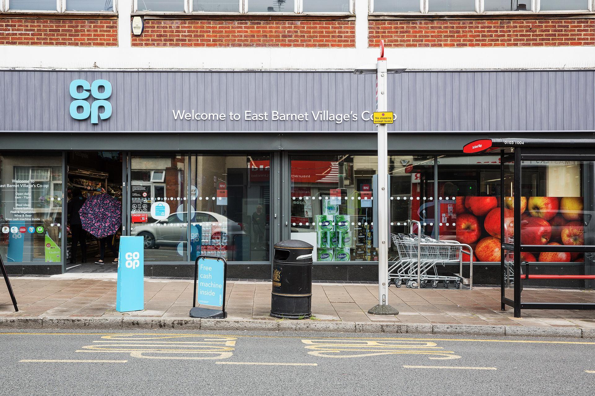A photograph of East Barnet - East Barnet Road