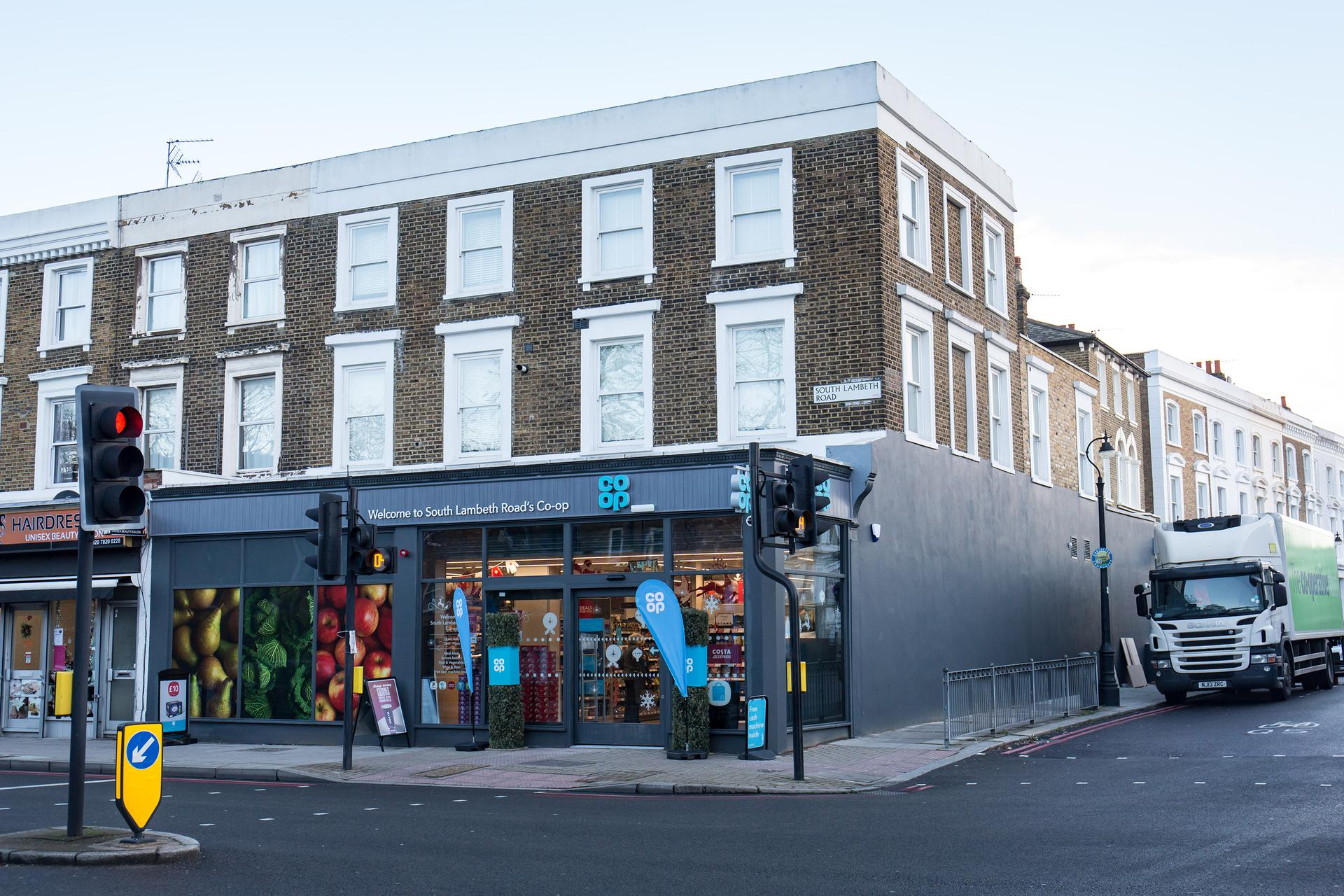 A photograph of London - South Lambeth Road