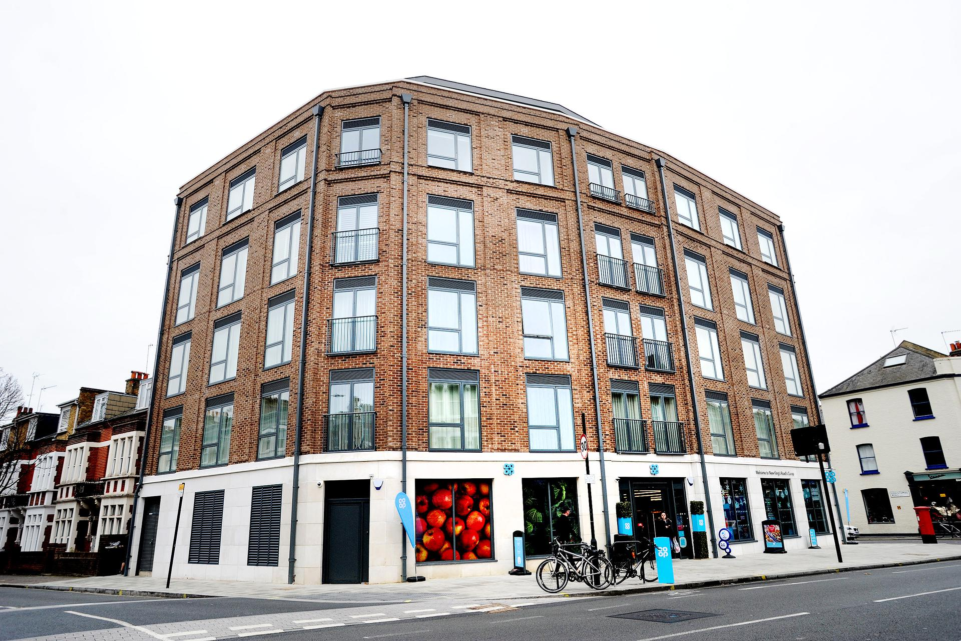 A photograph of New Kings Road - Fulham