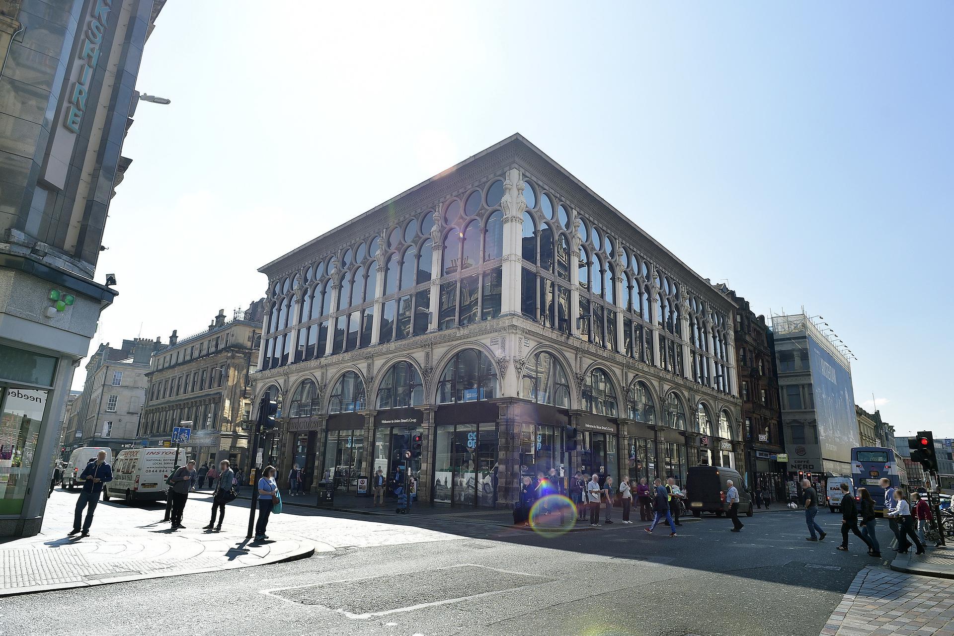A photograph of Glasgow - Union Street