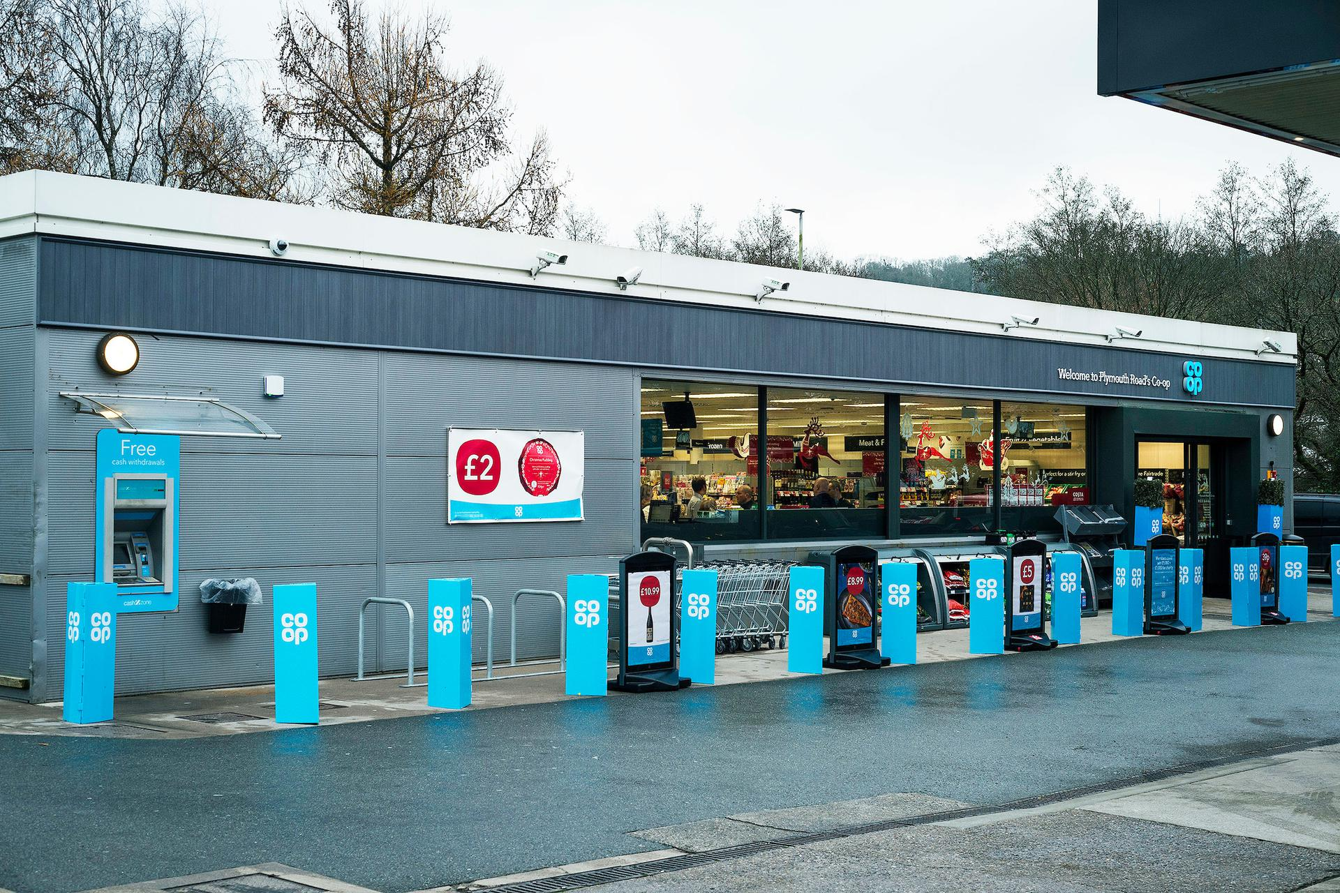 A photograph of Petrol Plympton